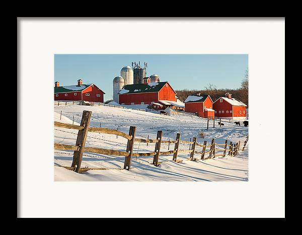 Barnyard Framed Print featuring the photograph Happy Acres Farm by Bill Wakeley