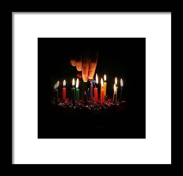 Happy Framed Print featuring the photograph Happy Birthday To You by Elizabeth Sullivan