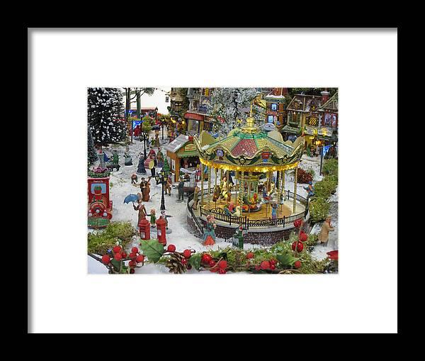 Christmas Season Framed Print featuring the photograph Happy Christmas -2 by Bai Qing Lyon
