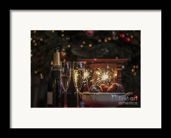 New Year's Eve Framed Print featuring the photograph Happy New Year by Patricia Hofmeester