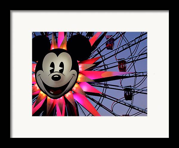 Mickey Framed Print featuring the photograph Happy Times by Camille Lopez