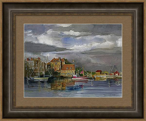 Harbor at Honfleur by Jim Norman