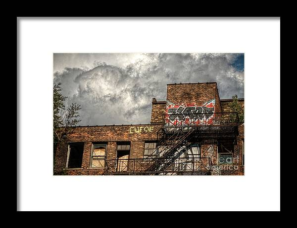 City Framed Print featuring the photograph Hard Day In The City by The Stone Age