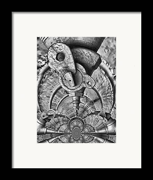 Art166.com Framed Print featuring the photograph Hardware Symphonette by Wendy J St Christopher