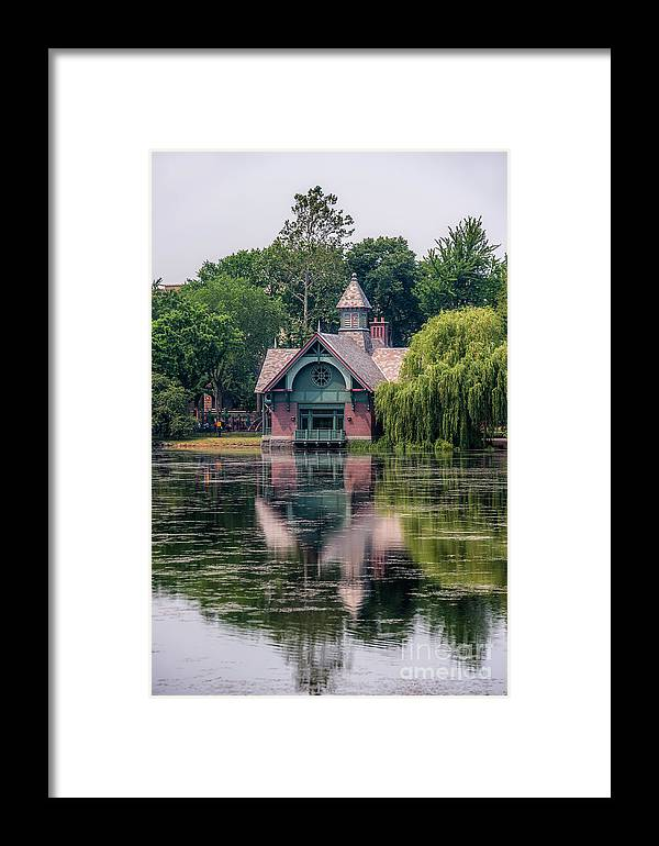Central Park Framed Print featuring the photograph Harlem Meer I by Ray Warren