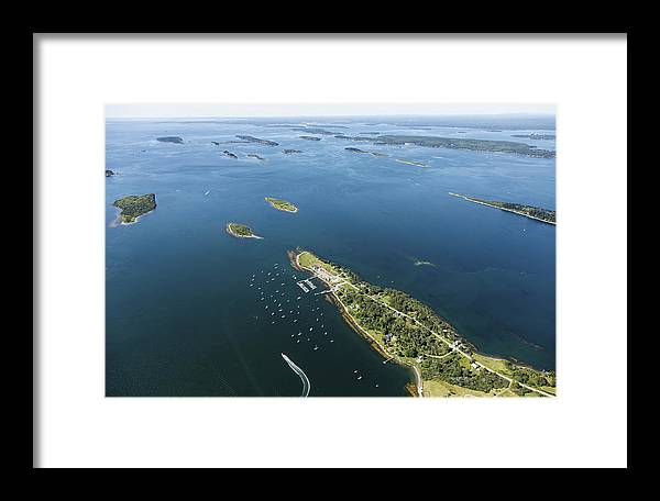 America Framed Print featuring the photograph Harpswell, Maine Me by Dave Cleaveland