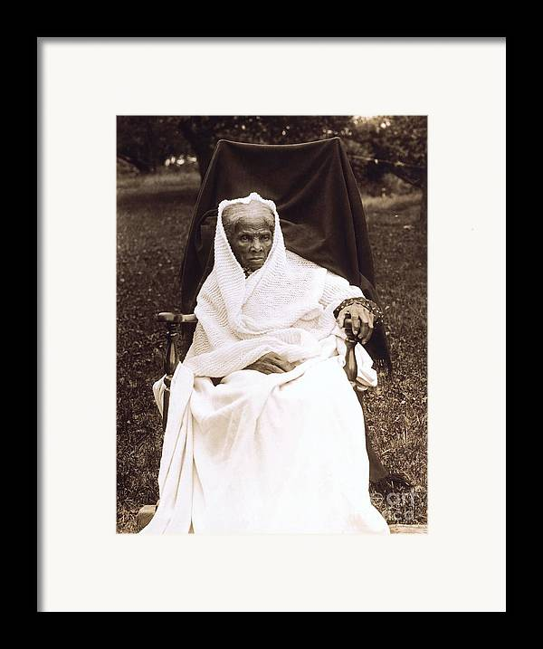 Douglass Framed Print featuring the photograph Harriet Tubman Portrait 1911 by Unknown