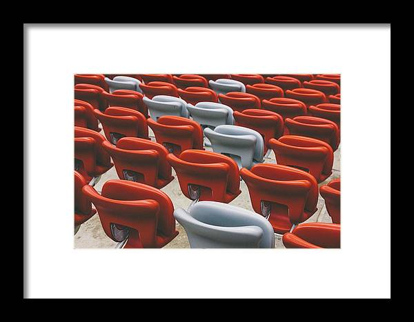Plastic Framed Print featuring the photograph Have A Seat by Pati Photography