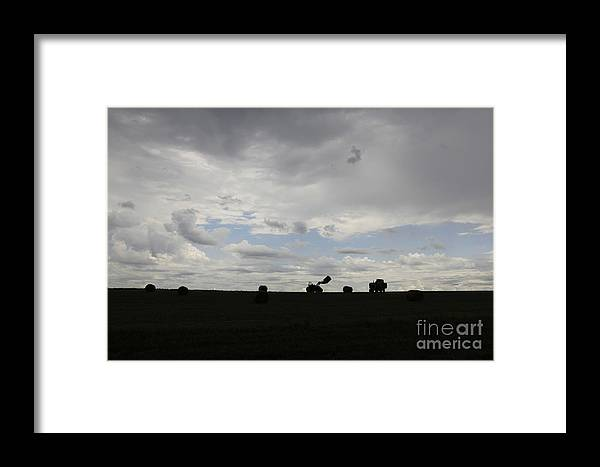 Hey Day Framed Print featuring the photograph Hay Day Hall by Kelly Morrow