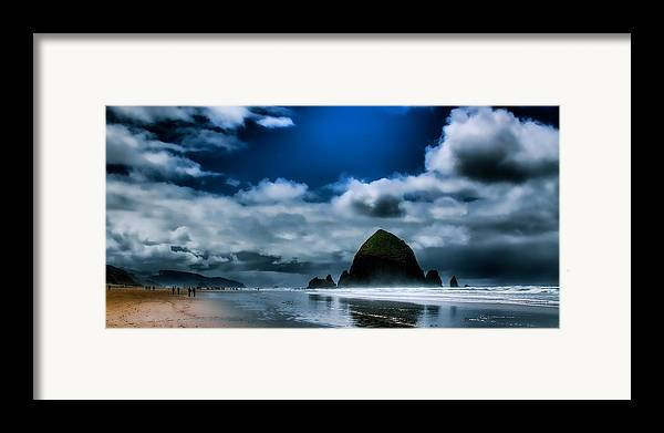 Cannon Beach Framed Print featuring the photograph Haystack Rock IIi by David Patterson