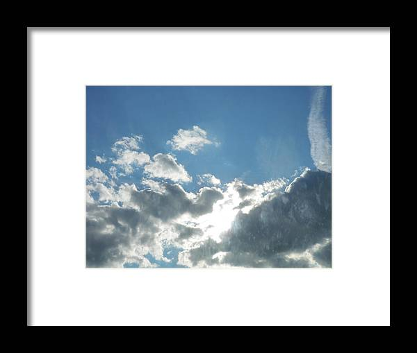 Framed Print featuring the photograph Head In The Clouds by Ashley Lamey