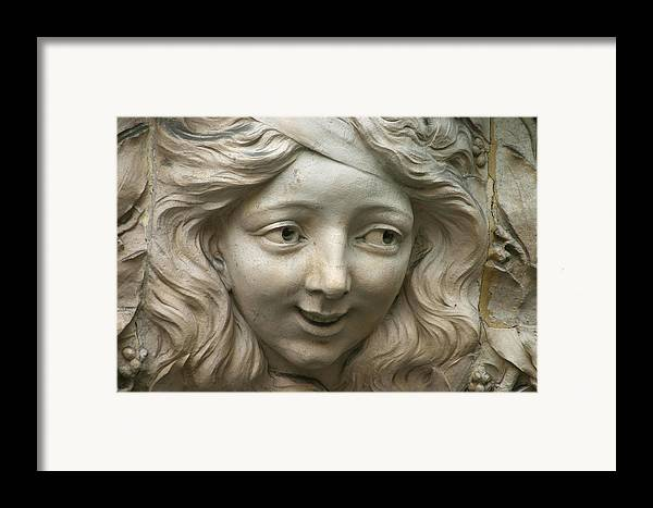 Paris Framed Print featuring the photograph Head Of Polina by A Morddel