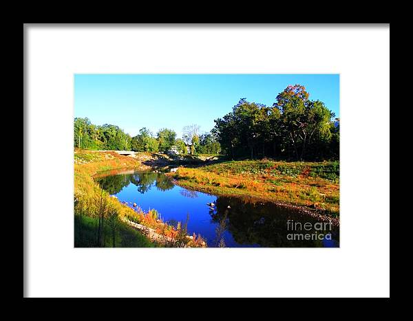 River Framed Print featuring the photograph Heading South by Jesse Ciazza