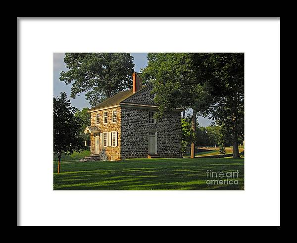 History Framed Print featuring the photograph Headquarters For Gw by Cindy Manero