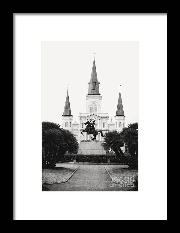 New Orleans Framed Print featuring the photograph Heart and Soul of New Orleans by Kim Fearheiley