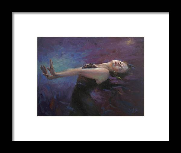 Dance Framed Print featuring the painting Heart Breaking by Sandra Lo