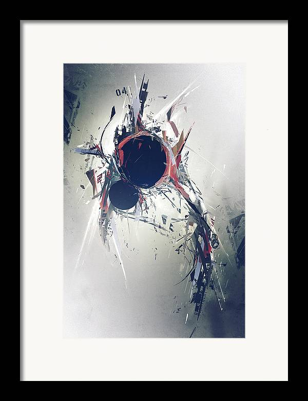 Precurser Framed Print featuring the digital art Heartbeat by George Smith