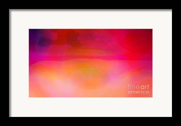 Desert Canvas Prints Framed Print featuring the digital art Heat by Pauli Hyvonen
