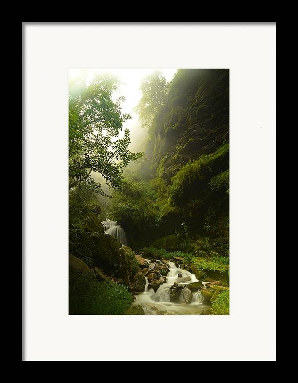 Landscape Framed Print featuring the photograph Heaven Calling by Aaron Bedell
