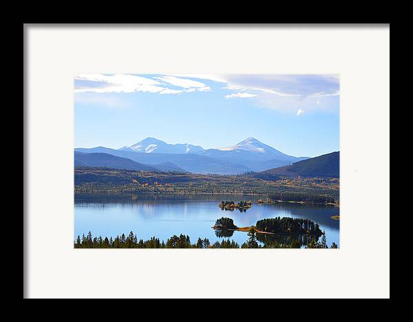 Rocky Mountains Framed Print featuring the photograph Heaven by Jimi Bush