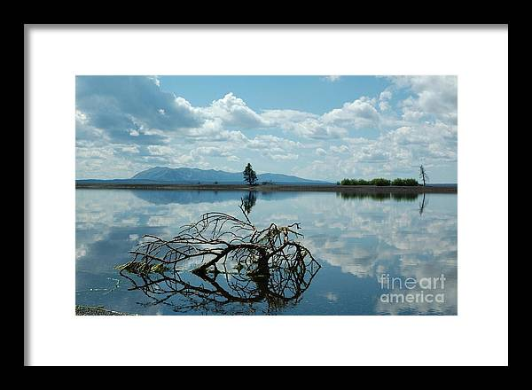 Landscape Framed Print featuring the photograph Heaven Reflected by Jennie Stewart