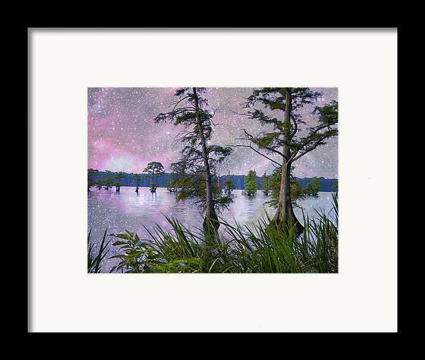 J Larry Walker Framed Print featuring the digital art Heavenly Sunrise by J Larry Walker