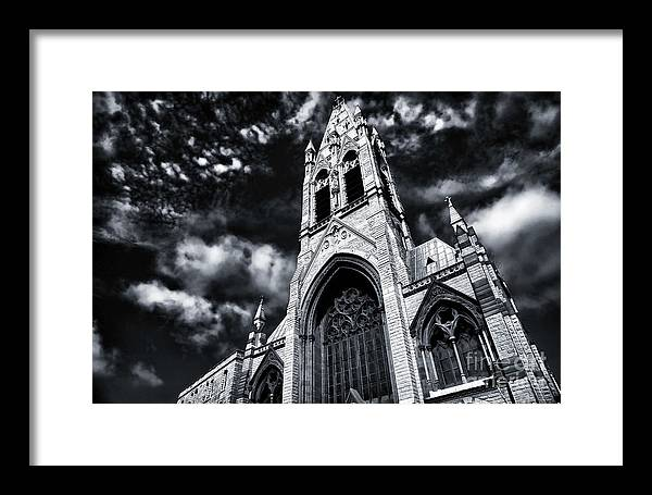 Heaven's Church Framed Print featuring the photograph Heaven's Church by John Rizzuto