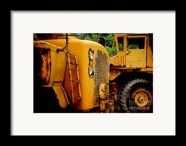 Bulldozer Framed Print featuring the photograph Heavy Equipment by Amy Cicconi