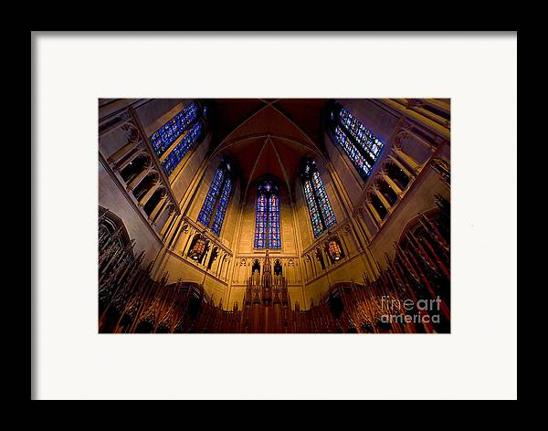 Allegheny County Framed Print featuring the photograph Heinz Memorial Chapel Pittsburgh Pennsylvania by Amy Cicconi