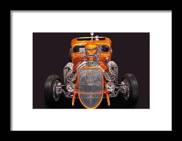 Hemi Framed Print featuring the photograph Hell Bent Hemi 3 by Bill Dutting