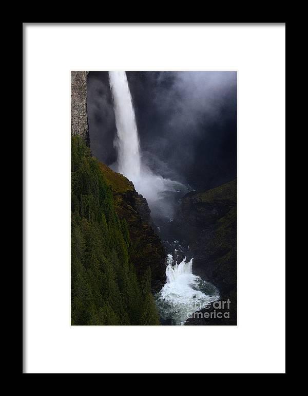 Helmcken Framed Print featuring the photograph Helmcken Falls 3 by Bob Christopher