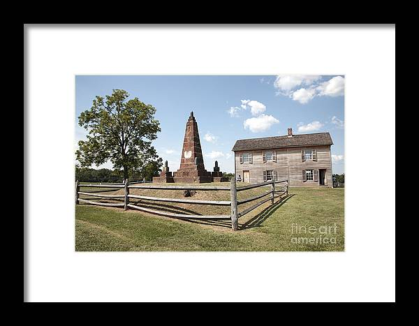 Battle Of Bull Run Framed Print featuring the photograph Henry Hill At Manassas by William Kuta