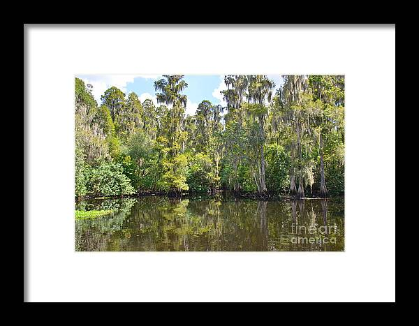 River Framed Print featuring the photograph Heritage Boat Landing by Carol Bradley