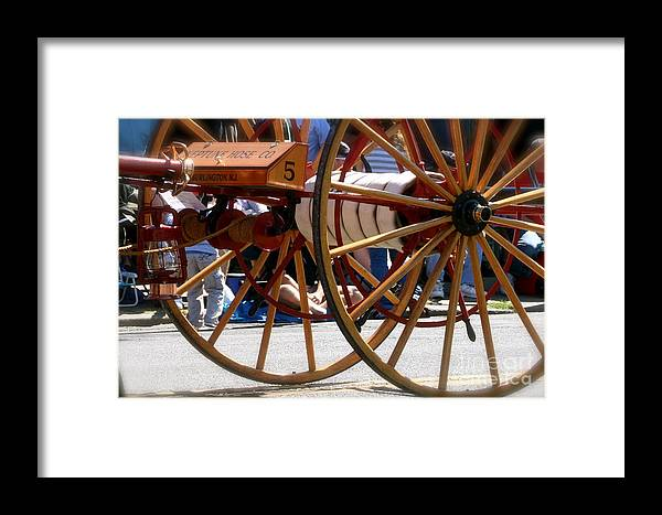 Firefighting Framed Print featuring the photograph Heritage by Rick Monyahan