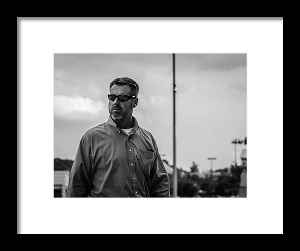 Portraits Framed Print featuring the photograph He's Looking For You by Ryan Routt