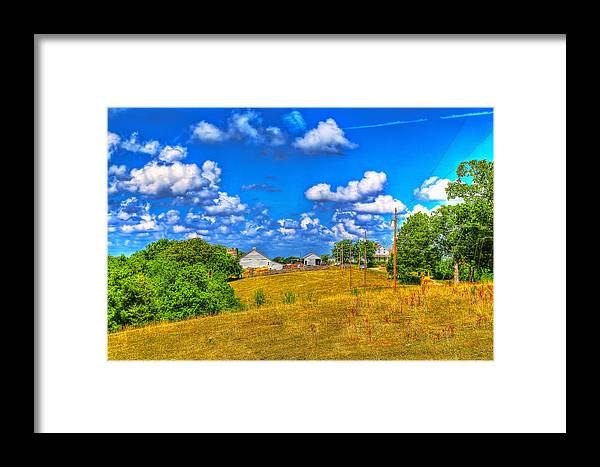 Ozark Framed Print featuring the photograph Hicks Farm #3 by John Derby