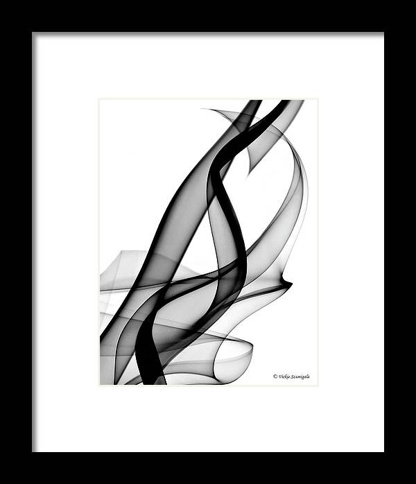 Smoke Framed Print featuring the photograph Hidden Heart by Vickie Szumigala
