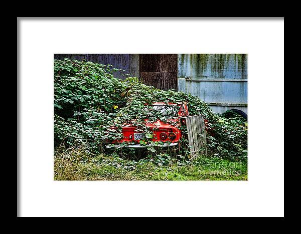 Cars Framed Print featuring the photograph Hidden Opal Manta by Randy Harris