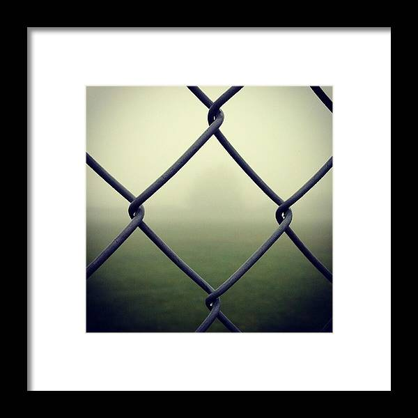 Fog Framed Print featuring the photograph Hiding In The Fog by Peter DiFrancesco