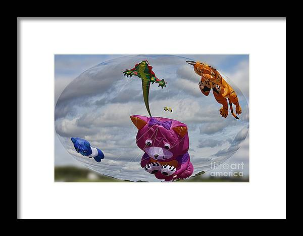 Clare Bambers Framed Print featuring the photograph High In The Sky by Clare Bambers