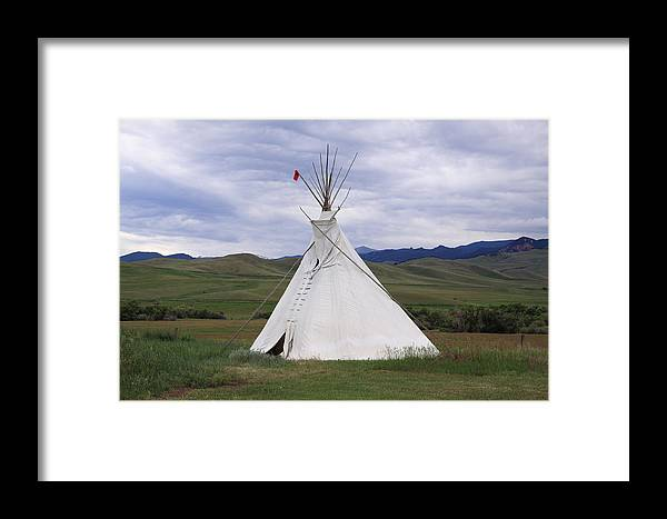 Home Framed Print featuring the photograph High Plains Home by Keith R Crowley