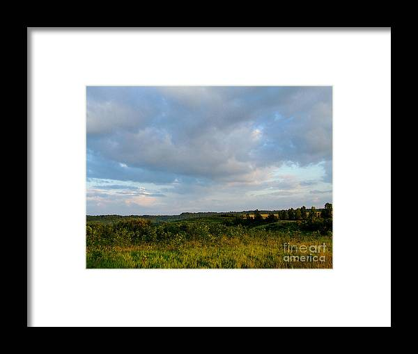 Valley Framed Print featuring the photograph High Valley View 1 Of2 by Scott B Bennett