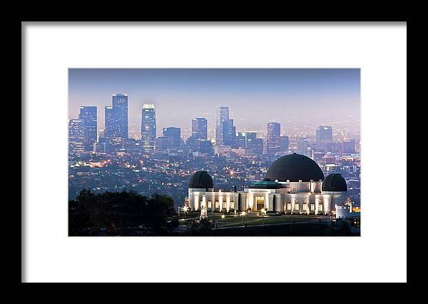 Downtown District Framed Print featuring the photograph Higher Ground by Andrew Kennelly