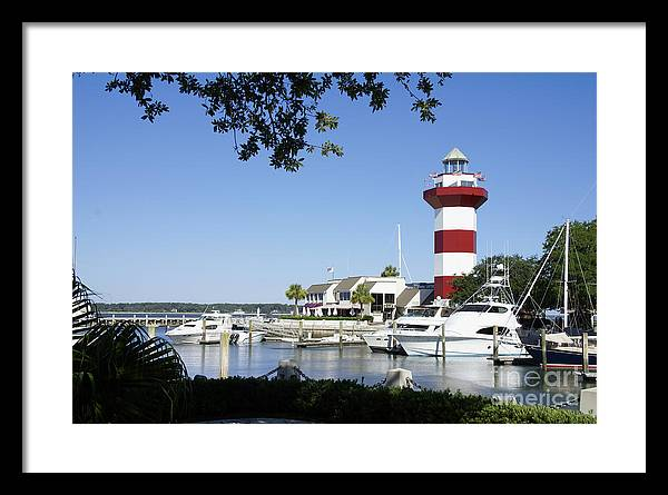 Hilton Head Harbour Town Lighthouse by SAJE Photography