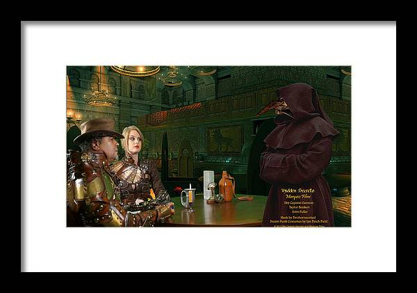 Science Fiction Framed Print featuring the digital art Hiring Leach by Robert Marquiss