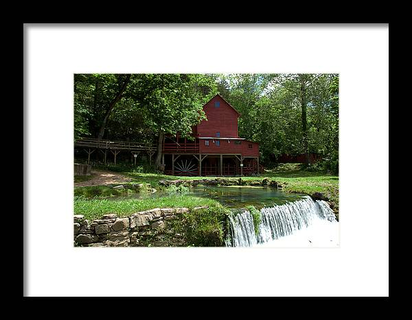 Beautiful Framed Print featuring the photograph Hodgson Mill by Scott Sanders