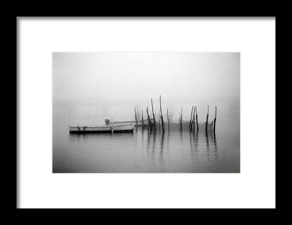 Md Framed Print featuring the photograph Holding Nets by Skip Willits