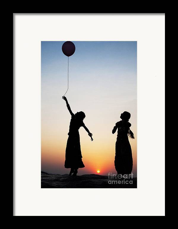 Indian Framed Print featuring the photograph Holding The Dream by Tim Gainey