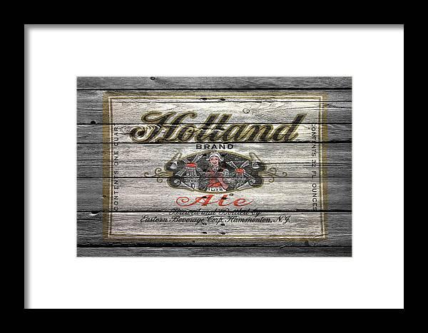 Holland Ale Framed Print featuring the photograph Holland Ale by Joe Hamilton