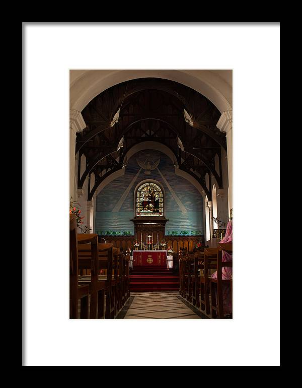 Holy Trinity Church Framed Print featuring the photograph Holy Trinity Church Bangalore by Saurav Pandey